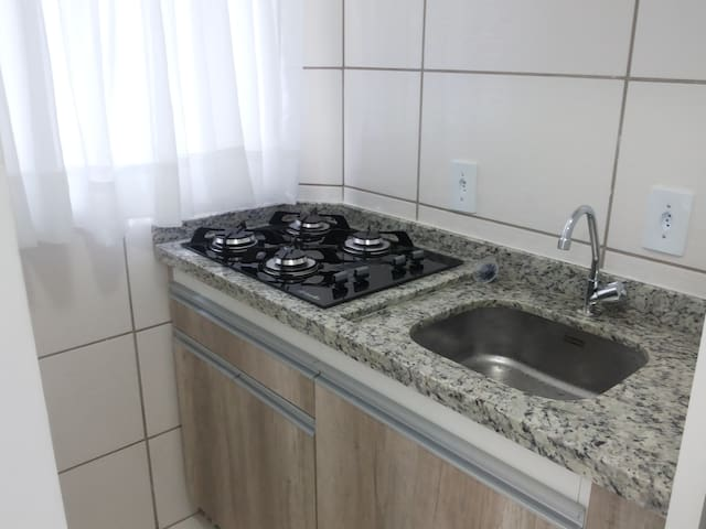 Residencial Neto 1 cama-casal+1 sofá-cama . 1