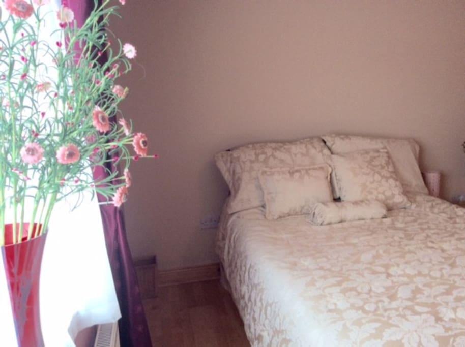 Beautiful double bedroom.