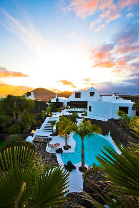 Casa Teiga view