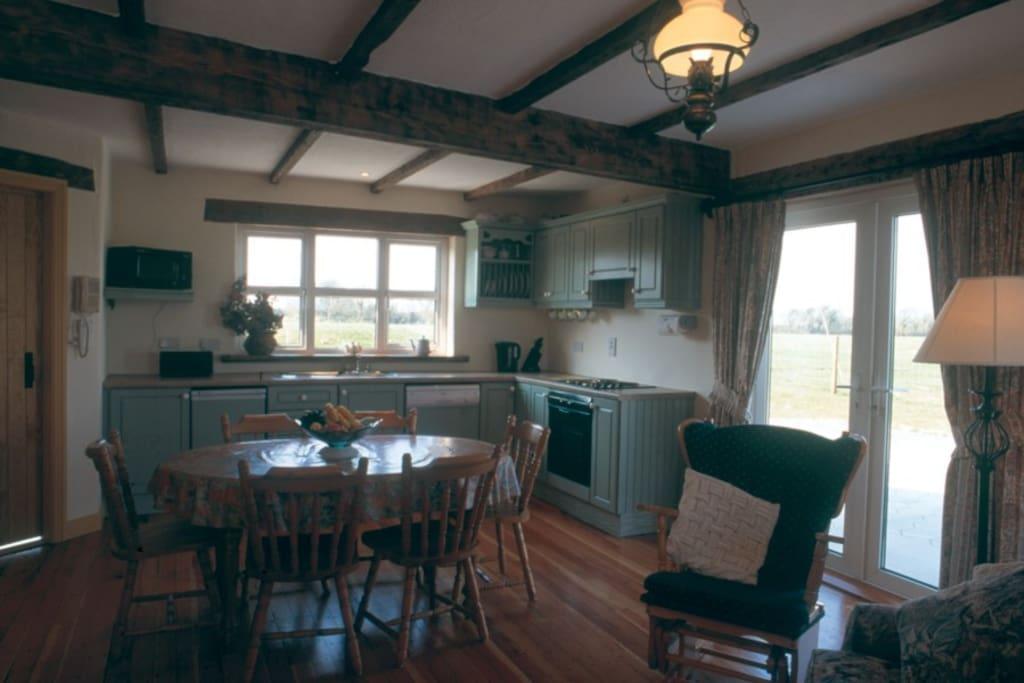 Kilmore Cottage kitchen