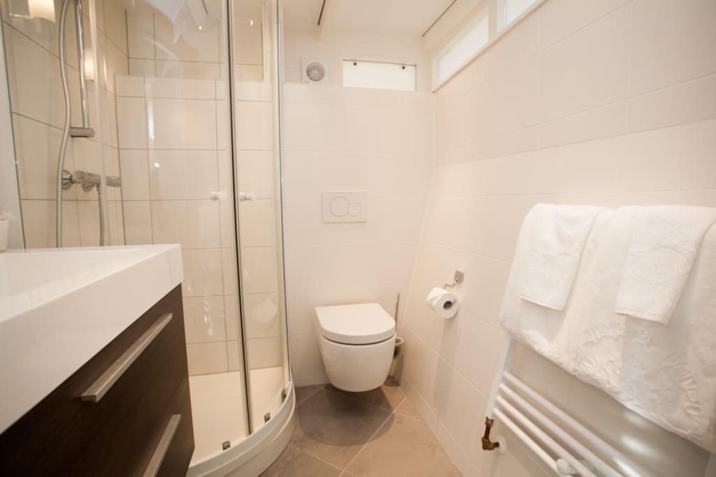 renovated bathroom with underfloor heating