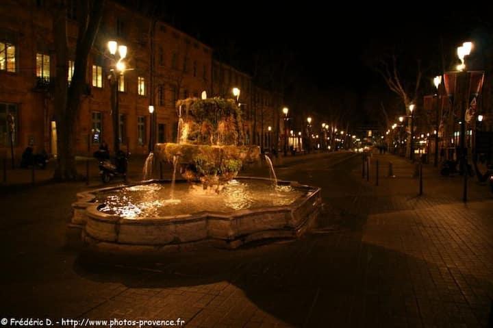 Séjour dans une belle ville pittoresque de France.