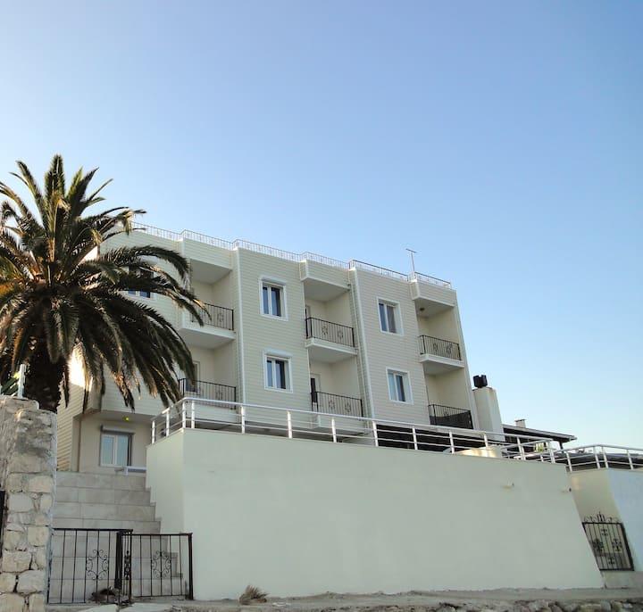 Strandhaus direkt am Meer