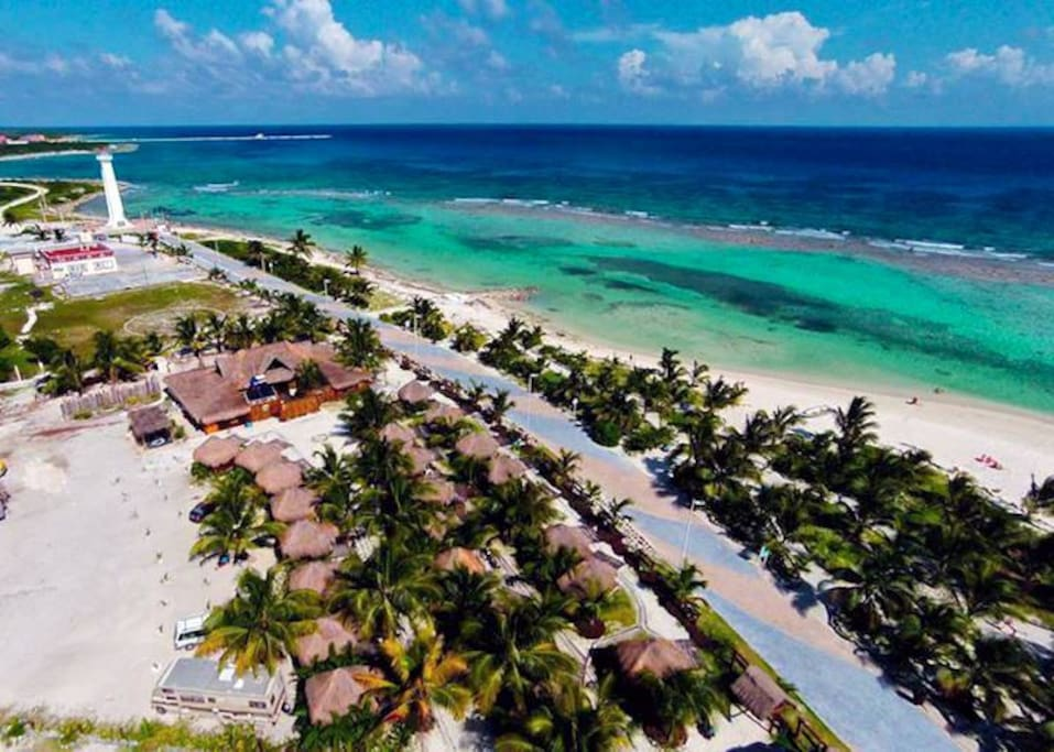 Bluekay Mini Cabanas Cottages For Rent In Mahahual