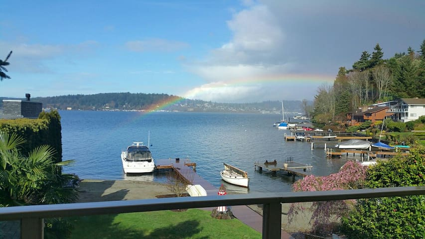 Seattle Lake Washington Water Views - Kenmore - Appartamento