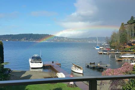 Seattle Lake Washington Water Views - Kenmore