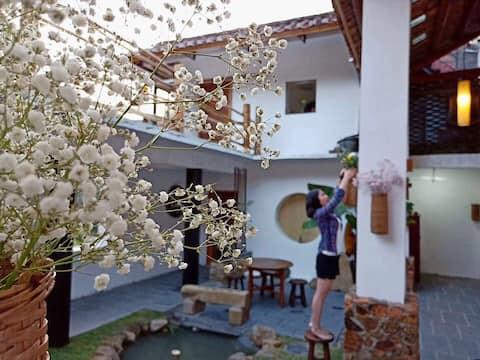 南昆山庭院复式三床房(体验式自助民宿,含早餐)