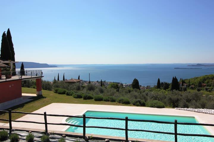 NUOVO 1°piano, vista lago con terrazzo e piscina - Toscolano-Maderno - Apartment
