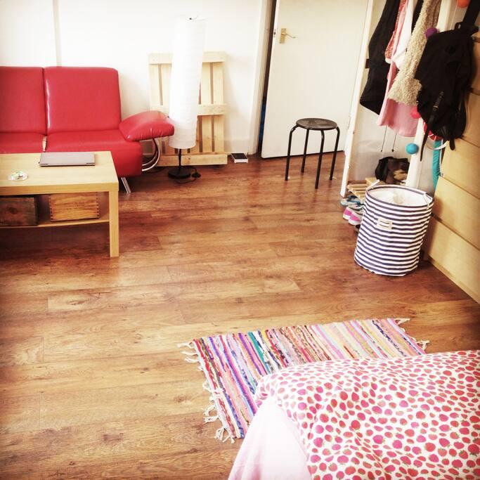 Amazing wooden floor