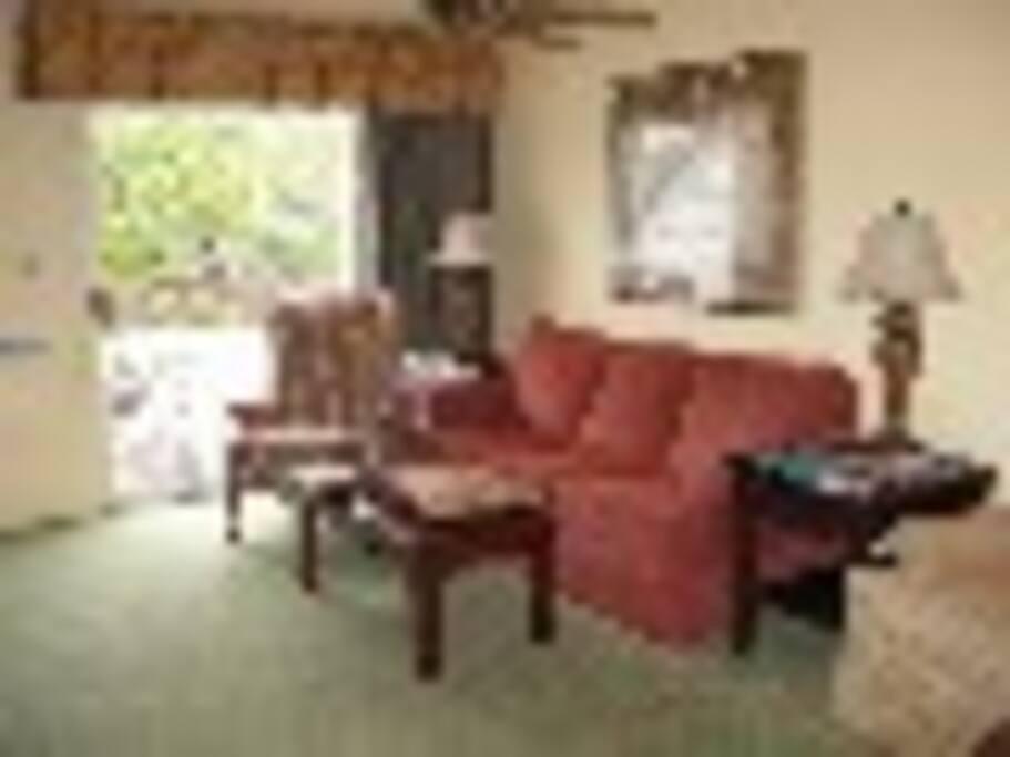 Spacious units 1200 sq.ft. Has a home like feeling