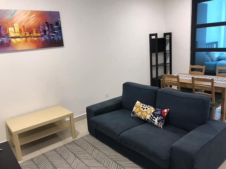 Studio @ H2O Ara Damansara | Wi-Fi | TV Box