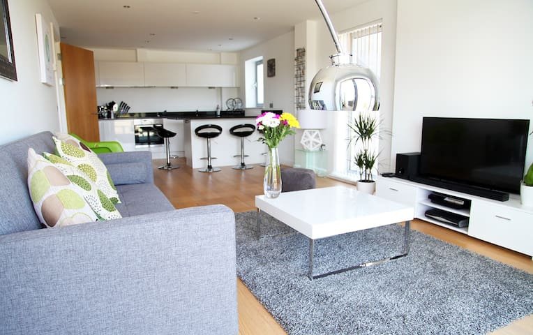 Open Plan Fistral Beach Apartment