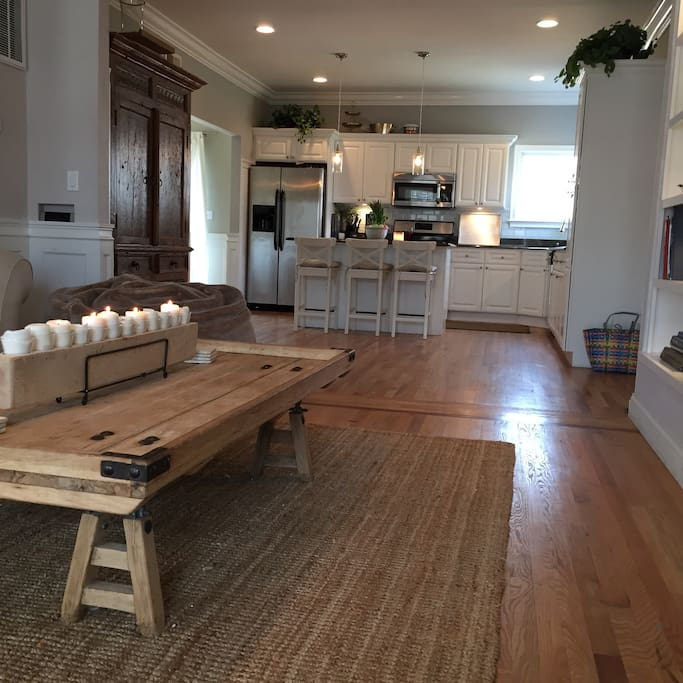 Large open plan house