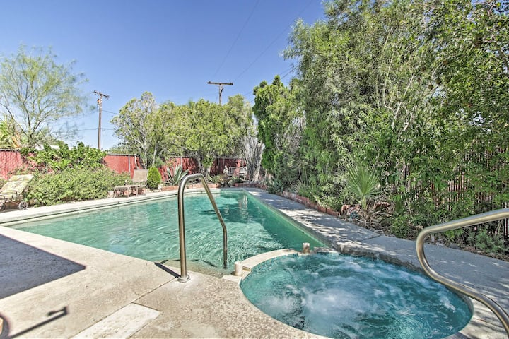 NEW! Home, Private Pool w/Geothermal Mineral Water