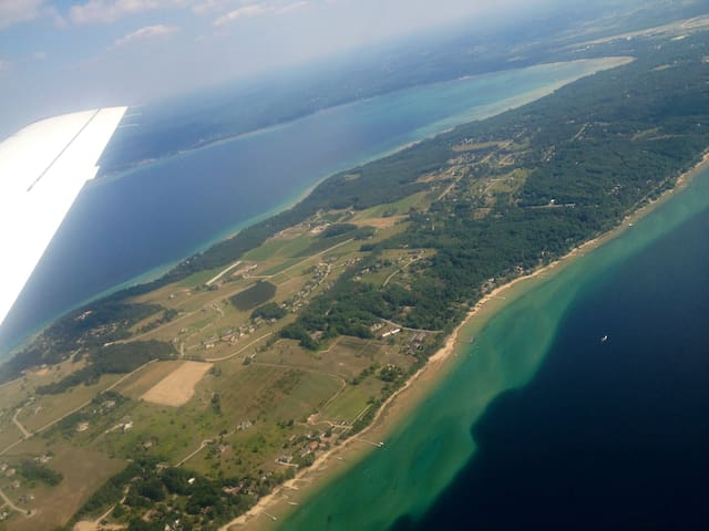 Old Mission Peninsula - West Bay - Traverse City - Casa