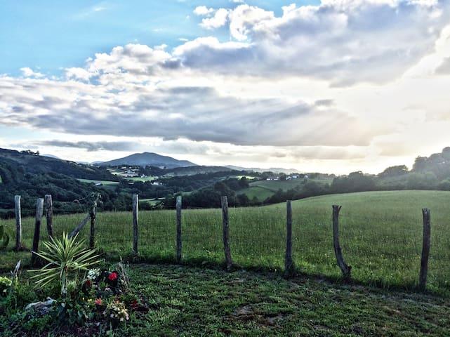 Jolie ferme rénovée vue dégagée - Isturits