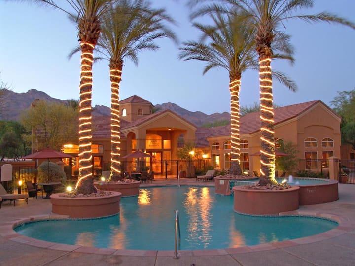 Tucson, AZ 1BR condo in Luxury foothills complex