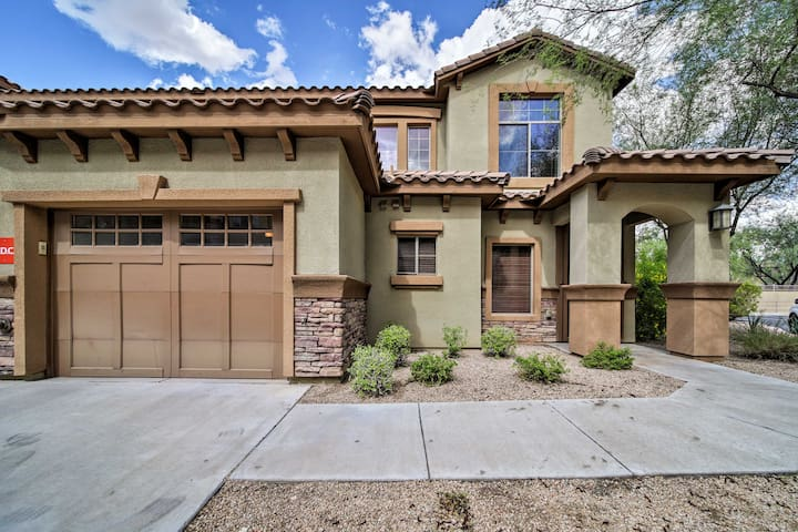 NEW! N. Scottsdale Townhome w/ Pool Access by TPC!