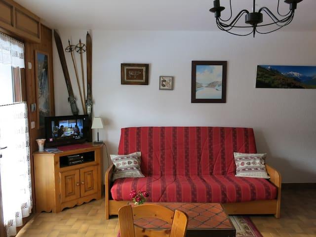 Appartement grand studio 3 étoiles - Samoëns - Daire
