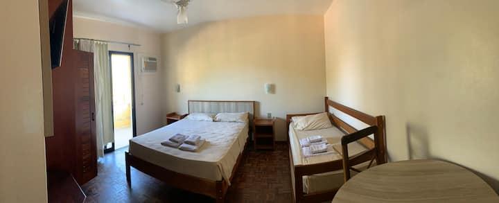 Quarto 101 do residencial Aquamarina