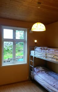 Tone's B&B Yellow Bedroom - Straume