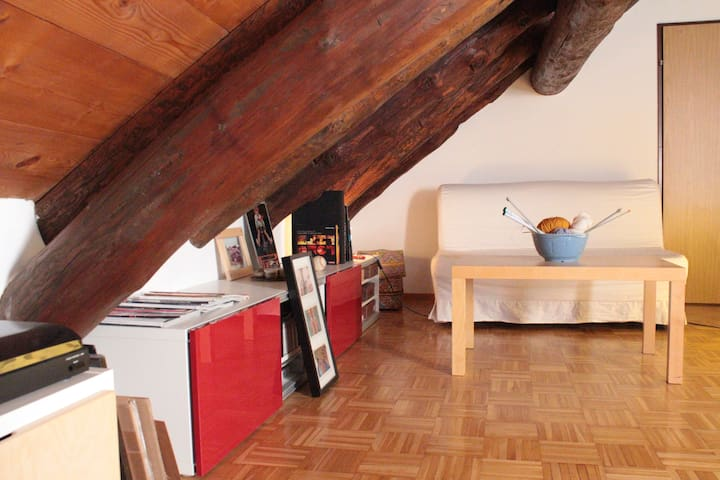 Cozy Rustical Nest in Old Town - Locarno - Apartment