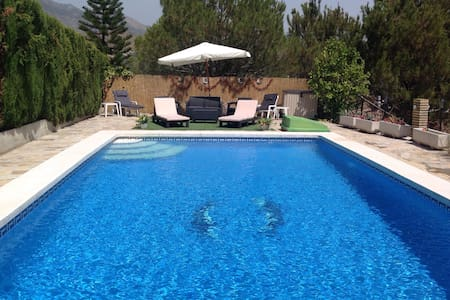 Andalusian Villa 10x6 Metre Pool - Viñuela