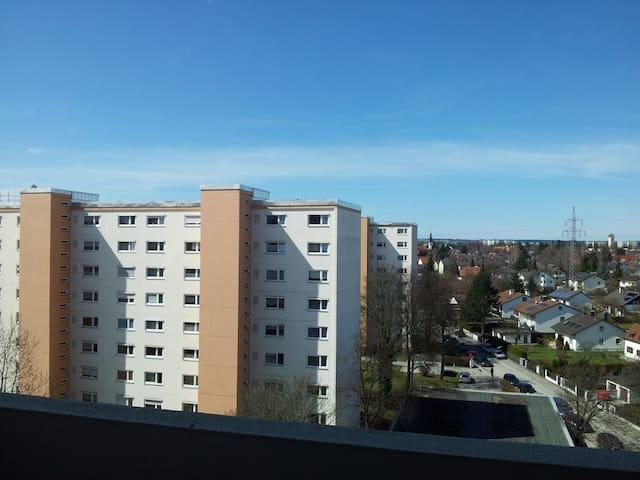 Ruhiges Zimmer im Münchner Westen - Monachium - Apartament