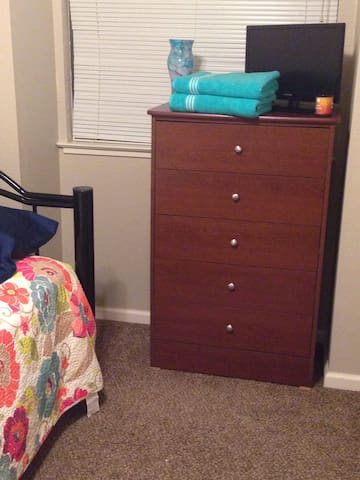 Cozy lil private room in Greenhaven - Sacramento - Rumah
