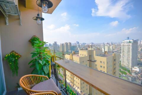Luxury apart 3BR balcony nice view - CT4 VIMECO
