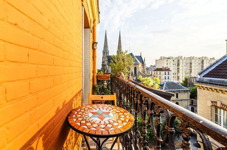 Charming Parisian Studio