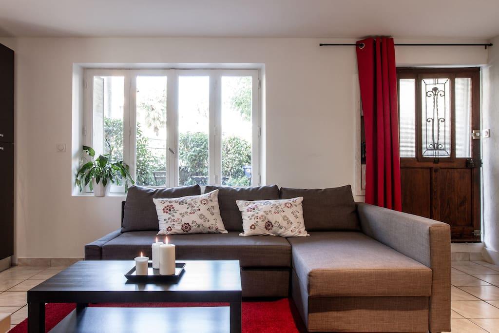 Super t2 de 50m quartier minimes appartements louer for Location garage toulouse minimes