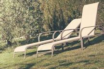 Hamacas-jardín