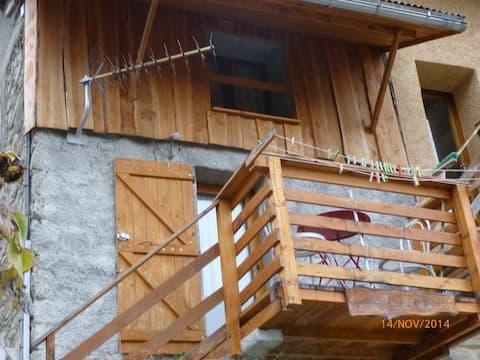 Petit appartement alpin