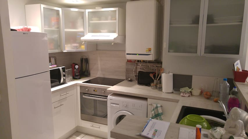 Petit appartement de 50 m2  idéal pour curistes - Bagnères-de-Bigorre - Apartment