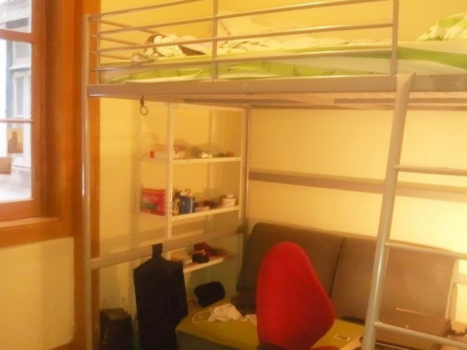 double bed+sofa
