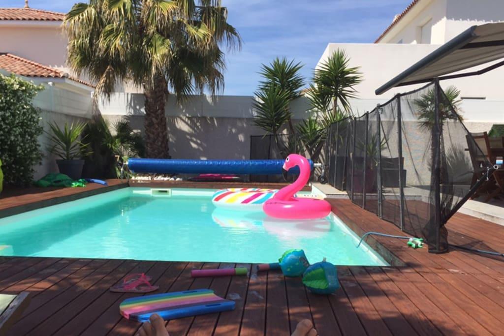La piscine sans vis à vis