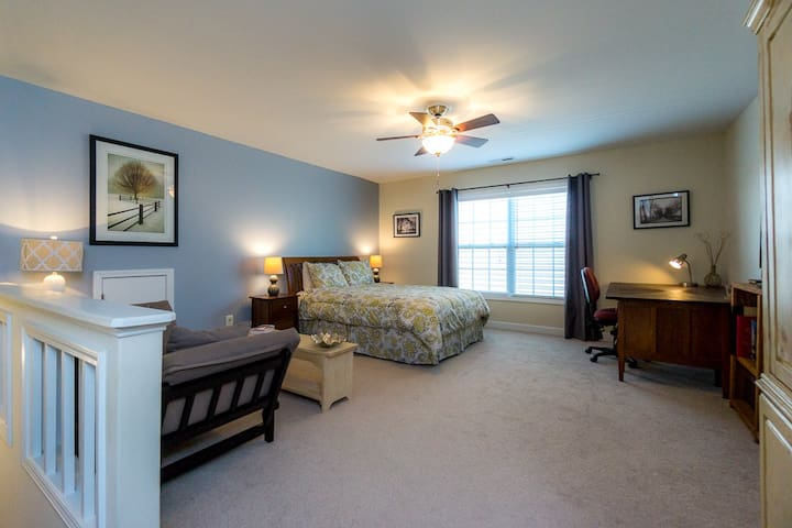 Near RTP & RDU. Quiet, cozy suite. - Morrisville