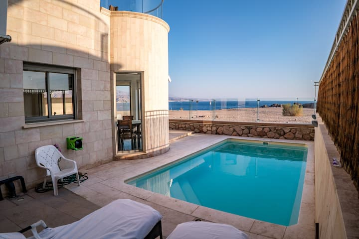 Amazing Private Heated Pool Suite - View on Sea