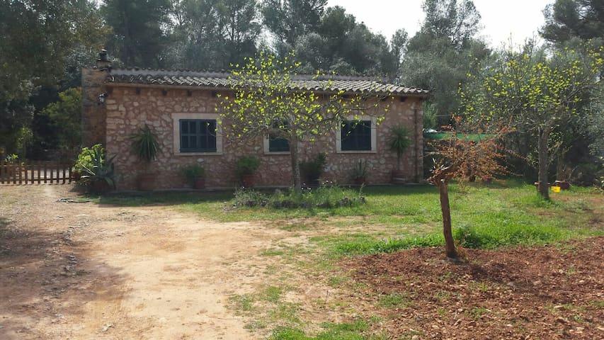 Casa de campo con piscina - Lloret de Vistalegre - Hus