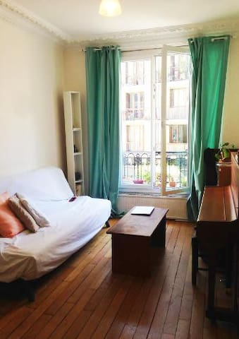 Lovely room Paris 14e close to Montparnasse