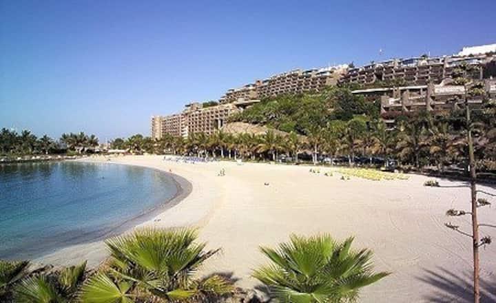 Anfi del Mar, beach front 1 bedroom apartment