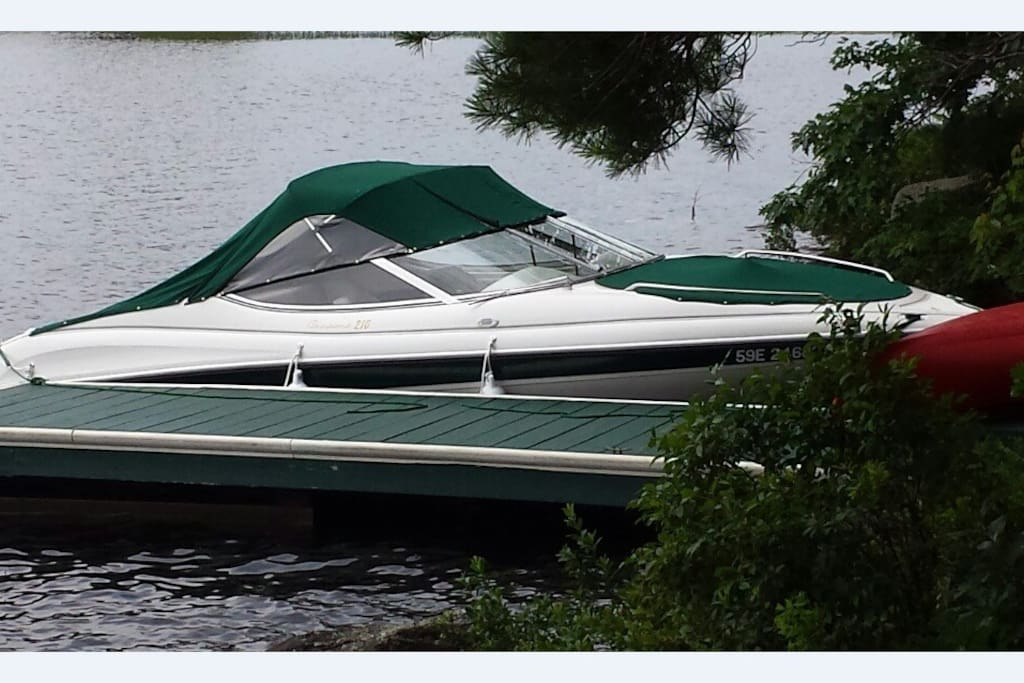 Boat that is Included With Cottage Rental