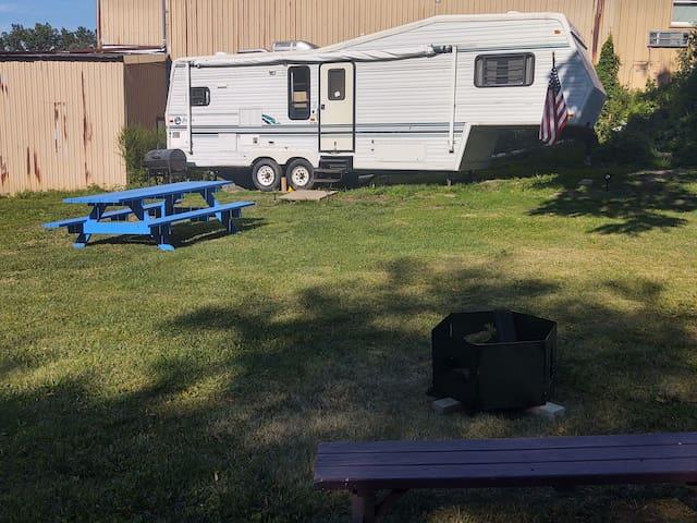 1993 Jayco Camper Backyard Glamping at its finest!