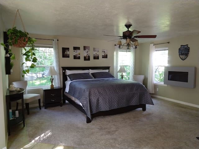 Master Suite with Amazing Views