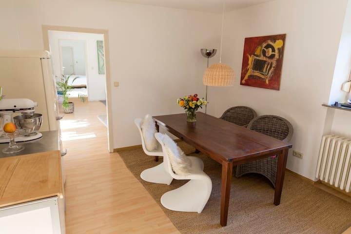 kleine gemütliche Wohnung in Trier-Süd - Trier - Apartment