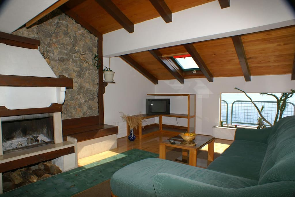 Living room, Surface: 35 m²