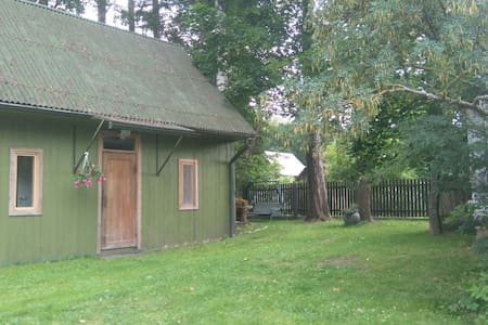 Lovely cottage with a garden in peaceful place - Jūrmala - Casa