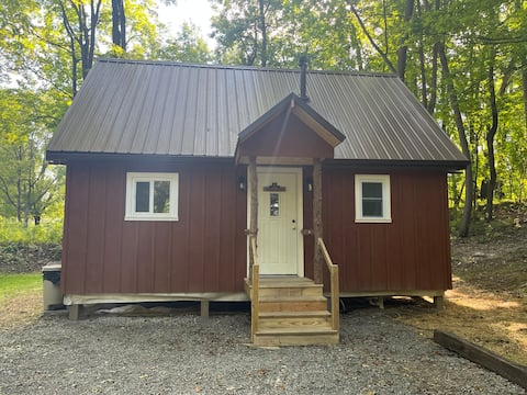 Secluded private luxury cabin in 76 acre woods