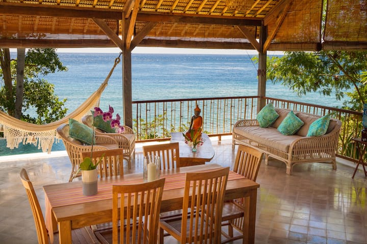 Villa Pura Maia 100% Sea View-Private Pool & Beach